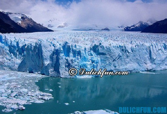 Hướng dẫn du lịch Argentina giá rẻ, chi tiết: Sông băng Perito Moreno, địa điểm tham quan du lịch thú vị, hấp dẫn ở Argentina