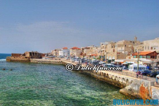 Hướng dẫn du lịch Israel giá rẻ, chi tiết: Nên đi đâu khi du lịch Israel? Thành phố cổ Acre (Akko), địa điểm du lịch nổi tiếng ở Israel
