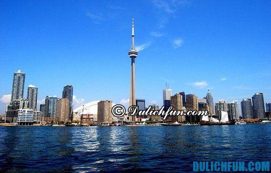 Nên đi đâu khi du lịch Toronto? Tháp truyền hình CN, địa điểm tham quan, du lịch nổi tiếng ở Toronto