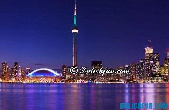 Hướng dẫn lịch trình tham quan du lịch Canada: Tháp truyền hình, địa điểm tham quan, du lịch hấp dẫn và thú vị nhất Canada