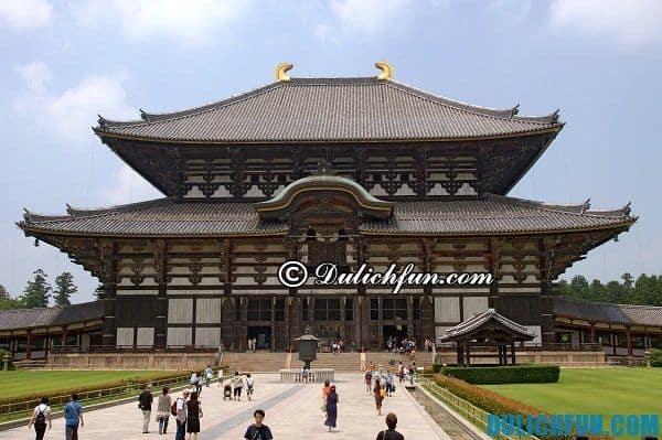 Tới Nara nên đi đâu? Các điểm tham quan, du lịch đẹp, nổi tiếng ở Nara