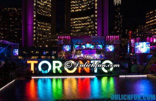 Đi đâu vui chơi khi du lịch Canada? Toronto, địa điểm du lịch nổi tiếng ở Canada