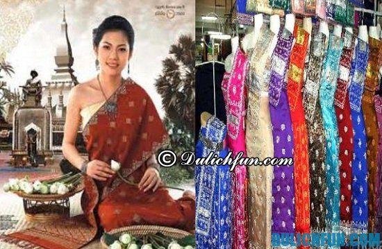 Du lịch Lào nên mua gì làm quà? Những trang phục truyền thống là món quà lý tưởng khi du lịch Lào bạn nên mua