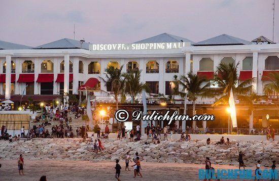 Trung tâm thương mại Discovery, địa điểm mua sắm nổi tiếng ở Bali thu hút được nhiều khách du lịch nhất