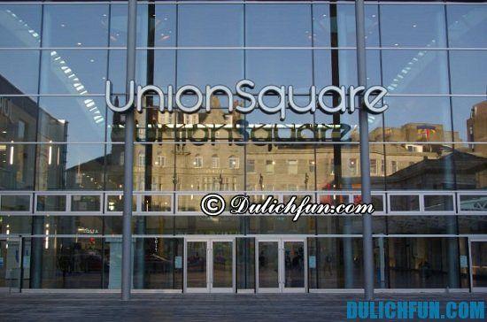 Union Square, địa điểm mua sắm giá rẻ, chất lượng ở San Francisco: Mua sắm ở đâu khi đến San Francisco du lịch?