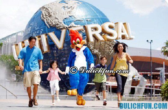 Đi đâu khi du lịch Los Angeles? Công viên Universal Studios Hollywood, địa điểm tham quan, du lịch nổi tiếng ở Los Angeles