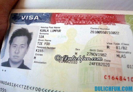 Thủ tục xin Visa Mỹ cần những gì? Hướng dẫn cách làm Visa Mỹ trước khi đi du lịch Los Angeles