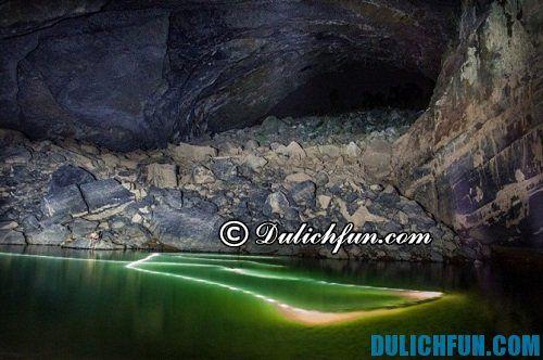 Du lịch khám phá hang Sơn Đoòng: Những địa điểm có phong cảnh đẹp ở hang Sơn Đoòng