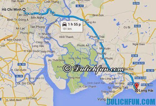 Kinh nghiệm du lịch Long Hải an toàn, tiết kiệm: hướng dẫn đường đi tới Long Hải