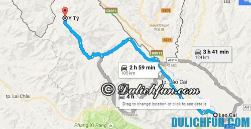 Hướng dẫn đường đi du lịch Y Tý: cùng đường phượt từ Lào Cai lên Y Tý