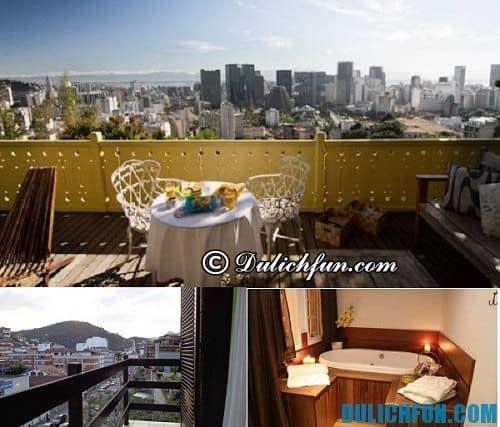 Tour du lịch Rio de Janeiro giá rẻ: Tổng hợp khách sạn ở Rio de Janeiro giá rẻ, đầy đủ tiện nghi
