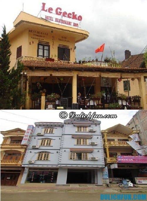 Hướng dẫn du lịch Si Ma Cai chi tiết đầy đủ: khách sạn ở Si Ma Cai