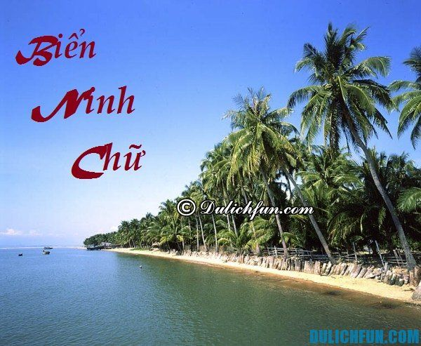 Kinh nghiệm du lịch biển Ninh Chữ chi tiết: Hướng dẫn lịch trình du lịch biển Ninh Chữ