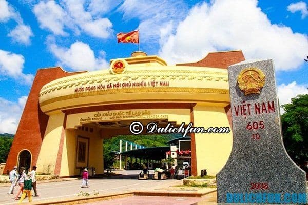 Kinh nghiệm du lịch Lao Bảo