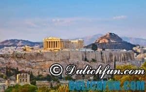 Kinh nghiệm du lịch Athens – Hy Lạp vui vẻ, thuận lợi