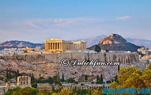 Kinh nghiệm du lịch Athens - Hy Lạp chi tiết, đầy đủ: Du lịch Athens mùa nào đẹp nhất