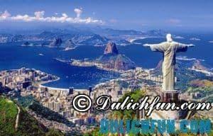 Kinh nghiệm du lịch Rio de Janeiro hấp dẫn, nóng bỏng