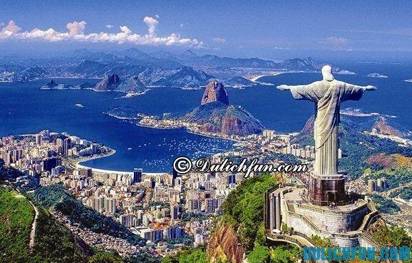 Kinh nghiệm du lịch Rio de Janeiro chi tiết, đầy đủ: Du lịch Rio De Janeiro vào thời gian nào đẹp nhất