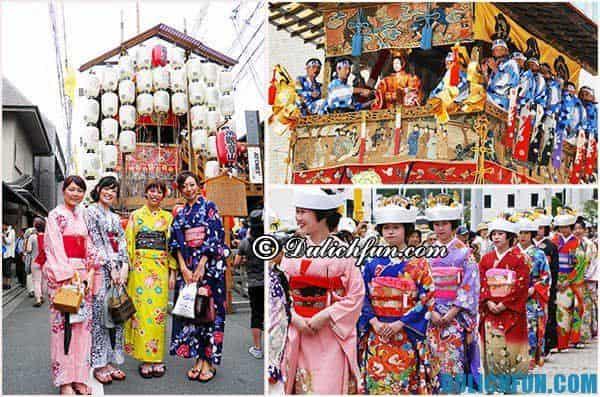 Các lễ hội lớn, hấp dẫn ở Nhật Bản tổ chức ở đâu, khi nào?