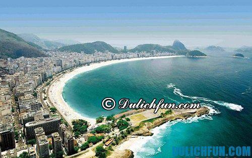 Kinh nghiệm du lịch Rio de Janeiro tự túc, giá rẻ: những địa điểm du lịch đẹp ở Rio de Janeiro