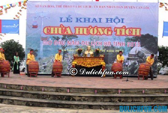 Tư vấn lịch trình tham quan, vui chơi ở Hà Tĩnh: Chùa Hương Tích, địa điểm tham quan du lịch nổi tiếng ở Hà Tĩnh nhất định bạn phải tới