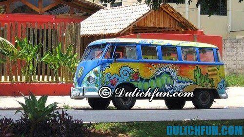 Phương tiện di chuyển trong thành phố Rio de Janeiro: xe Kombi, lịch trình du lịch Rio De Janeiro