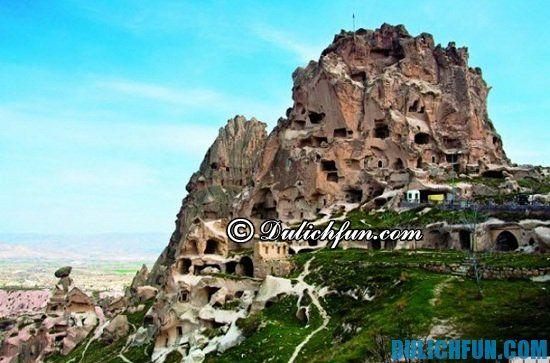 Kinh nghiệm du lịch Thổ Nhĩ Kỳ - Hướng dẫn lịch trình tham quan du lịch Thổ Nhĩ Kỳ: Quần thể núi đá vôi Cappadocia, địa điểm tham quan du lịch nổi tiếng nhất ở Thổ Nhĩ Kỳ