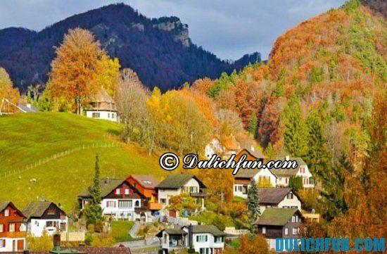 Du lịch Thụy Sĩ mùa nào đẹp nhất? Thời gian nào nên đi du lịch Thụy Sĩ - Kinh nghiệm du lịch Thụy Sỹ giá rẻ