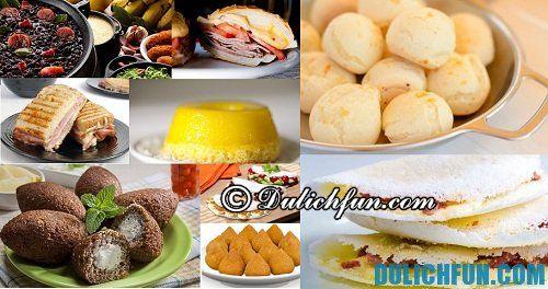 Kinh nghiệm du lịch Rio de Janeiro hấp dẫn, thú vị: những món ăn nổi tiếng ở Rio de Janeiro