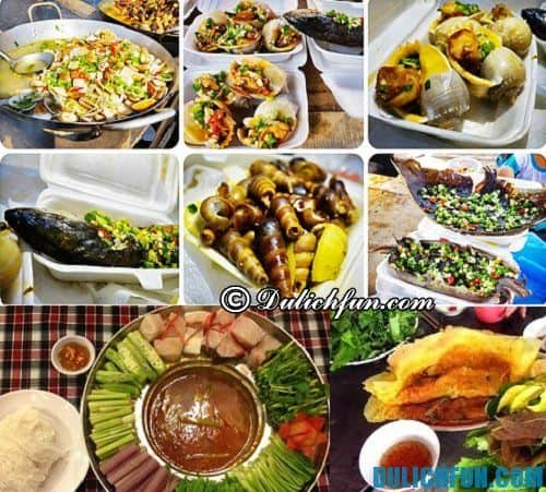 Hướng dẫn, kinh nghiệm du lịch Long Hải: Điểm danh những món ăn đặc sản, nổi tiếng ở Long Hải