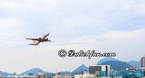KInh nghiệm du lịch Rio de Janeiro chi tiết: Phương tiện di chuyển tới Rio de Janeiro