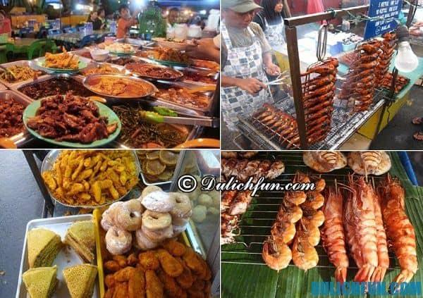 Du lịch Kota Kinabalu nên ăn món gì? ở đâu? Đặc sản ở Kota Kinabalu. Kinh nghiệm du lịch Kota Kinabalu