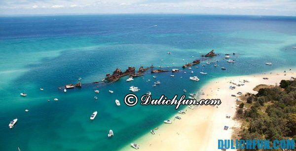 Bán đảo Redcliffe địa điểm du lịch đẹp, nổi bật nhất ở Brisbane. địa điểm du lịch xinh đẹp ở Brisbane