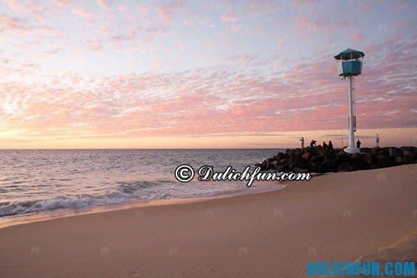 Bãi biển ở thành phố Perth, những bãi biển nổi tiếng ở Perth. Những bãi biển lý tưởng ở Perth thu hút du khách
