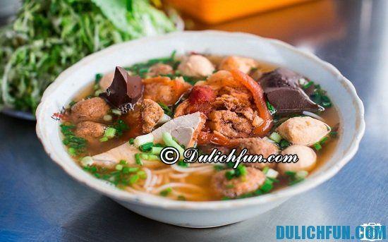 Kinh nghiệm du lịch, vui chơi, ăn uống ở Bảo Lộc: Ăn gì khi du lịch Bảo Lộc? Bún riêu O Lan, món ăn ngon, đặc sản hấp dẫn ở Bảo Lộc