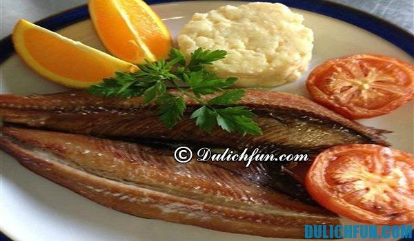 Cá herring ở Hà Lan, du lịch Hà Lan ăn món gì ngon. Những món ăn ngon nhất ở Hà Lan