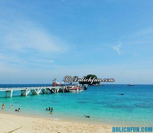 Đảo Tioman, Malaysia có đẹp không? Hướng dẫn đường đi, cách di chuyển tới đảo Tioman, Malaysia du lịch