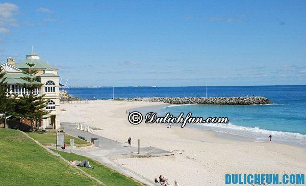 Cottesloe bãi biển đẹp nhất ở Perth, bãi biển đẹp, nổi tiếng ở Perth thu hút du khách: Bãi biển nào đẹp nhất ở Perth