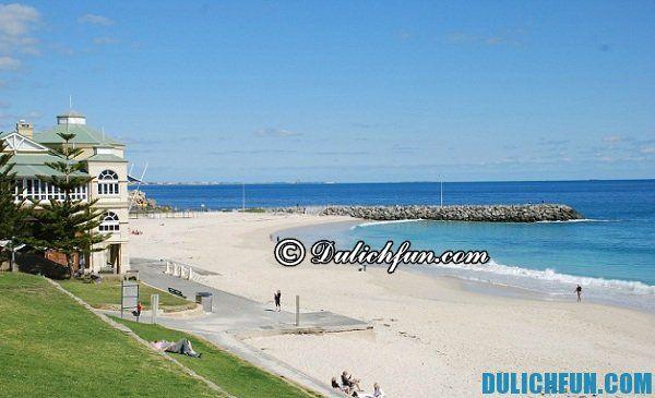 Cottesloe bãi biển đẹp ở Perth, du lịch thành phố Perth nên đi đâu chơi, những địa điểm du lịch nổi tiếng hàng đầu ở Perth - châu Úc