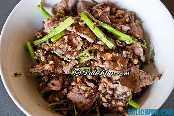 Những món ăn ngon hấp dẫn nên thử ở Siem Reap cùng địa chỉ, quán ăn ngon