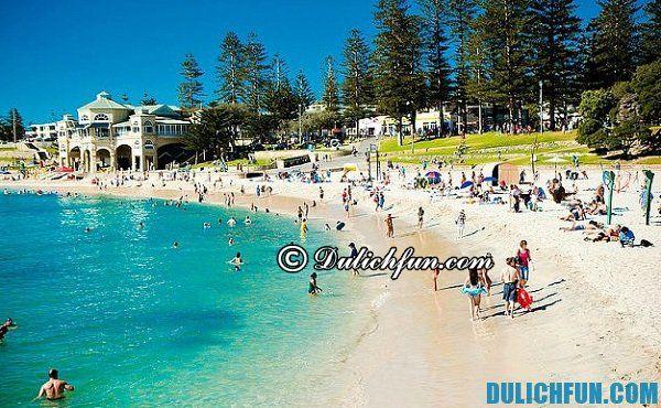 Dạo chơi những bãi biển nổi tiếng nhất ở Perth, khám phá những bãi biển xinh đẹp nhất ở Perth