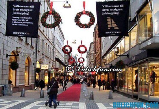 Mua gì, ở đâu khi du lịch Thụy Điển? Địa điểm mua sắm giá rẻ, chất lượng ở Thụy Điển