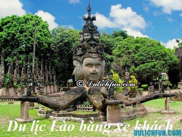 hướng dẫn du lịch Lào bằng xe khách đơn giản, thuận tiện, tiết kiệm.