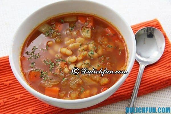 Fasolatha, món ăn ngon ở Hy Lạp. Những món ăn ngon, nổi tiếng ở Hy Lạp nên thưởng thức