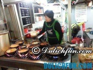 Các khu phố ẩm thực đêm tại Seoul, Hàn Quốc ngon nổi tiếng