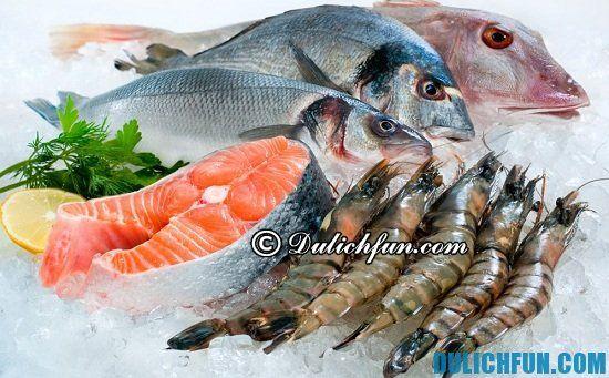 Nên ăn hải sản ở đâu khi du lịch biển Nhật Lệ? Hải sản đất Hoa Hồng, địa điểm ăn hải sản ngon ở biển Nhật Lệ