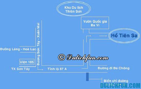 Đường đi du lịch Thiên Sơn Suối Ngà như thế nào? Hướng dẫn chi tiết cách đi du lịch Thiên Sơn Suối Ngà