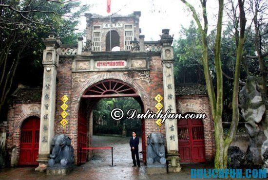 Du lịch Việt Phủ Thành Chương như thế nào? Hướng dẫn và kinh nghiệm du lịch Việt Phủ Thành Chương