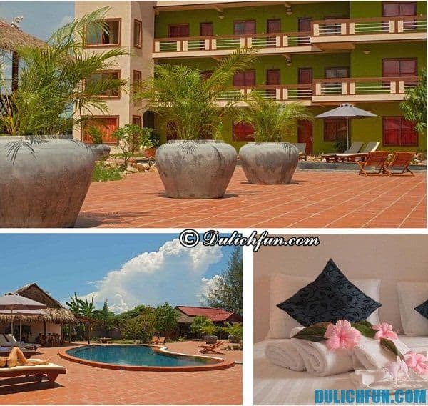 Du lịch Kampot nên ở đâu? Khách sạn, nhà nghỉ ở Kampot tốt, chất lượng, tiện nghi, giá cả hấp dẫn.... Kinh nghiệm du lịch bụi, phượt Kampot