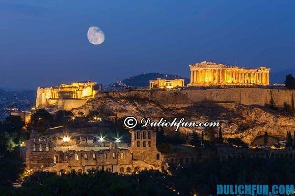 Khám phá những địa điểm du lịch đẹp ở Hy Lạp, những địa điểm vui chơi nổi tiếng, hấp dẫn ở Hy Lạp